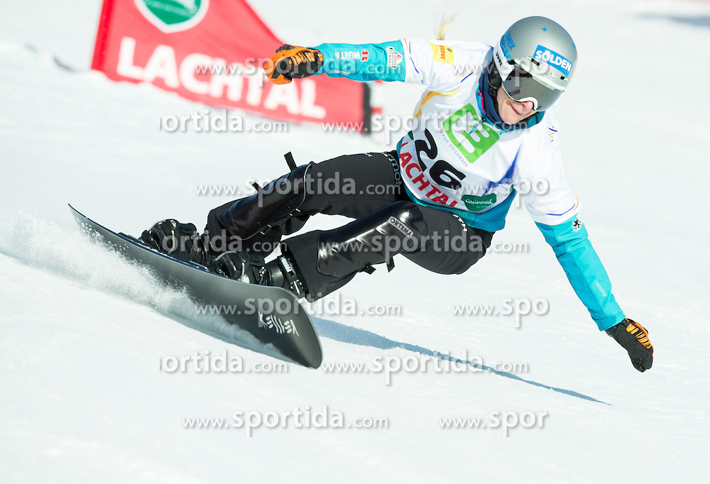 Amelie Kober of Germany competes during Elimination of the Ladies' Parallel Giant Slalom at FIS World Championships of Snowboard and Freestyle 2015, on January 23, 2015 at the WM Piste in Lachtal, Austria. Photo by Vid Ponikvar / Sportida