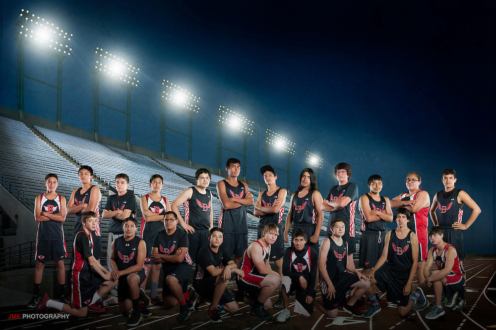 Browning High School Track team photos by JMK Photography