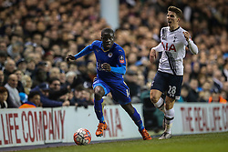 N'Golo Kante of Leicester City in action - Mandatory byline: Jason Brown/JMP - 07966386802 - 10/01/2016 - FOOTBALL - White Hart Lane - London, England - Tottenham v Leicester City - The Emirates FA Cup