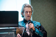 Statewide Oklahoma Women in Agriculture and Small Business Conference. Guest speaker Temple Grandin opened the conference talking about animal care and the improvements made and being made in the industry. Other topics included farm profitability, and Ag Tourism.