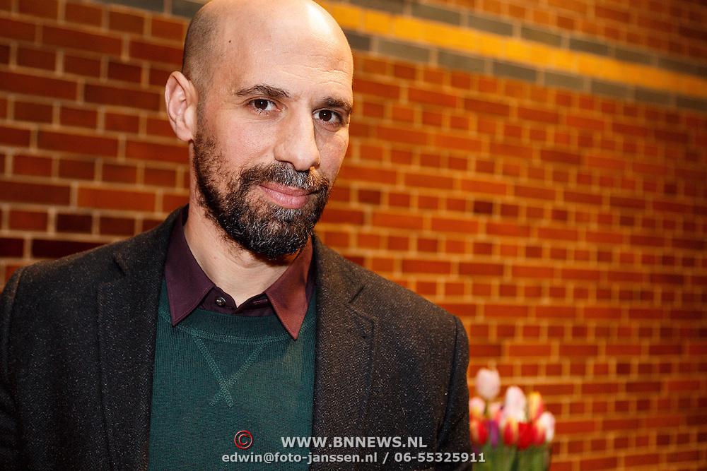NLD/Amsterdam/20160121 - Uitreiking Taalhelden prijzen 2016 door Prinses Laurentien, Abdelkader Benali
