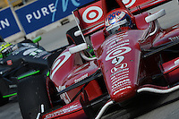 Scott Dixon, Cheverolet Indy Dual in Detroit, Belle Isle, Detroit, MI USA 06/01/13