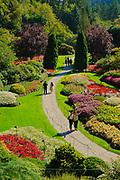 Sunken Garden, Butchart Gardens, Victoria, Canada