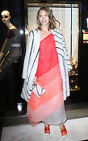 Arizona Muse, Fendi - Store Launch Party, New Bond Street, London UK, 01 May 2014, Photo by Brett D. Cove