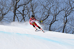 PEMBLE Mel LW9-2 CAN competing in the Para Alpine Skiing Downhill at the PyeongChang2018 Winter Paralympic Games, South Korea