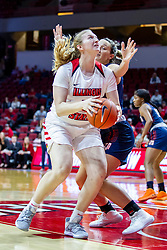 NORMAL, IL - November 30: Lexy Koudelka during a college women's basketball game between the ISU Redbirds and the Skyhawks of UT-Martin November 30 2019 at Redbird Arena in Normal, IL. (Photo by Alan Look)