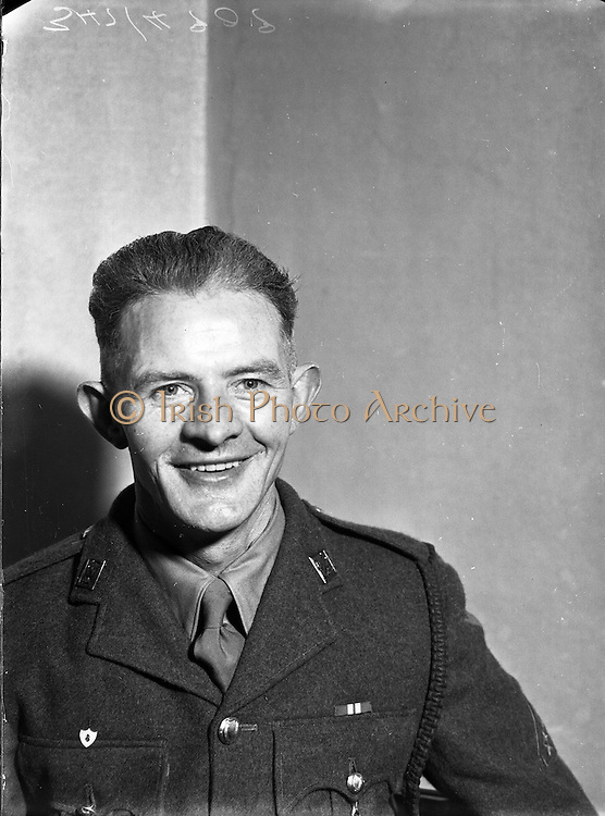 Radio Review - Crossword Winner of £750 - Private Brendan Carmody<br /> 14/11/1953