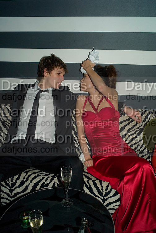 Natassia Scarlet Malthe and Alex Pettyfer, Weinstein Bafta after-party in association with Chopard. Bungalow 8. London. 10  February 2008.  *** Local Caption *** -DO NOT ARCHIVE-© Copyright Photograph by Dafydd Jones. 248 Clapham Rd. London SW9 0PZ. Tel 0207 820 0771. www.dafjones.com.