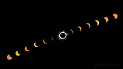 A composite of 13 images from the 2017 Solar Eclipse, taken outside Nashville, TN.<br /> <br /> Borderless image available as a 10x20 panoramic print, metal print, or standout on 3/4&quot; foam board for hanging unframed. <br /> <br /> Limited edition series of 10 signed, numbered prints on 3/4&quot; standout are available in both metallic and fine art paper for $525. Only 10 of each finish will be printed. Please email me through the contact form for details.
