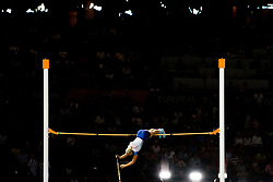 August 9, 2018 - Berlin, GERMANY - 180809 Holly Bradshaw of Great Britain competes to win bronze in the women's pole vault final during the European Athletics Championships on August 9, 2018 in Berlin..Photo: Vegard Wivestad GrÂ¿tt / BILDBYRN / kod VG / 170199 (Credit Image: © Vegard Wivestad Gr¯Tt/Bildbyran via ZUMA Press)
