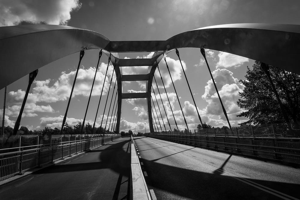 Västberga allé, bron över järvägen