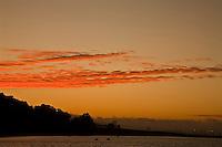 Winter sunset over Treasure Island, CA.  Copyright 2007 Reid McNally.