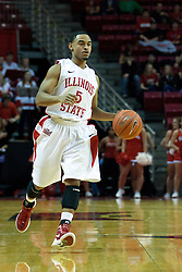 18 February 2012:  Anthony Cousin during an ESPN Bracketbuster mens basketball game Where the Oakland Golden Grizzlies lost to the Illinois State Redbirds 79-75 in Redbird Arena, Normal IL