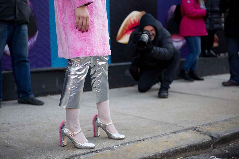 Silver Shoes at NYFW Day 1