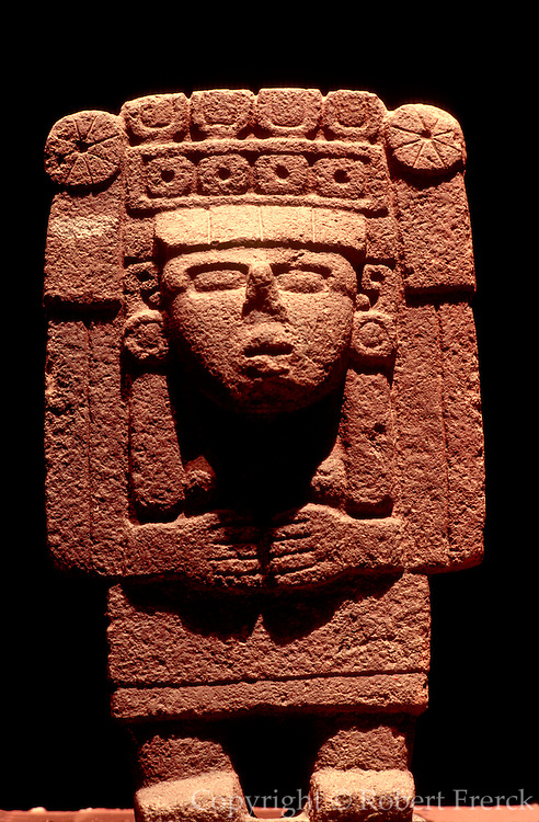 MEXICO, MEXICO CITY, MUSEUM Aztec; Xilonen goddess of corn