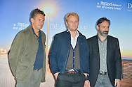 "Photocall film ""Everest"" with Baltasar Kormanur, Jason Clarke, Tim Bevan the 41st Deauville American Film Festival Opening Ceremony on September 4, 2015 in Deauville, France."