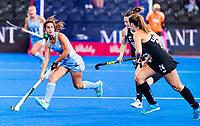 Londen - Agostina Alonso (Arg)   tijdens de cross over wedstrijd Argentinie-Nieuw Zeeland (2-0)  bij het WK Hockey 2018 in Londen .  COPYRIGHT KOEN SUYK