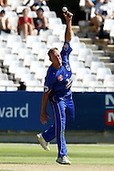 Claude Henderson of The Cobras during the Standard Bank Pro20 semi final match between the Nashua Mobile Cape Cobras and the Nashua Titans held at Sahara Park Newlands in Cape Town on the 27 February 2011..Photo by Ron Gaunt/SPORTZPICS