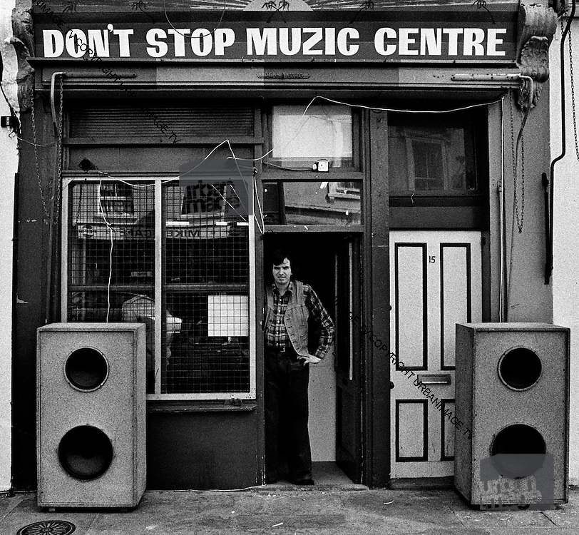 Sound System DJ at Don't Stop Muzic Centre - Notting Hill Carnival - 1979