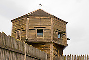 The bastion at Fort Vancouver National Historic Site, Vancouver, Washington
