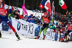 Rok Trsan (SLO) during the Mixed Relay 2x 6 km / 2x 7,5 km at day 3 of IBU Biathlon World Cup 2019/20 Pokljuka, on January 23, 2020 in Rudno polje, Pokljuka, Pokljuka, Slovenia. Photo by Peter Podobnik / Sportida
