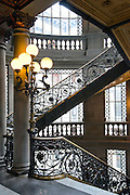 Mexico, Mexico City, Museo Nacional de Arte, National Museum of Art, Early 20th Century Neoclassical design, Stairway