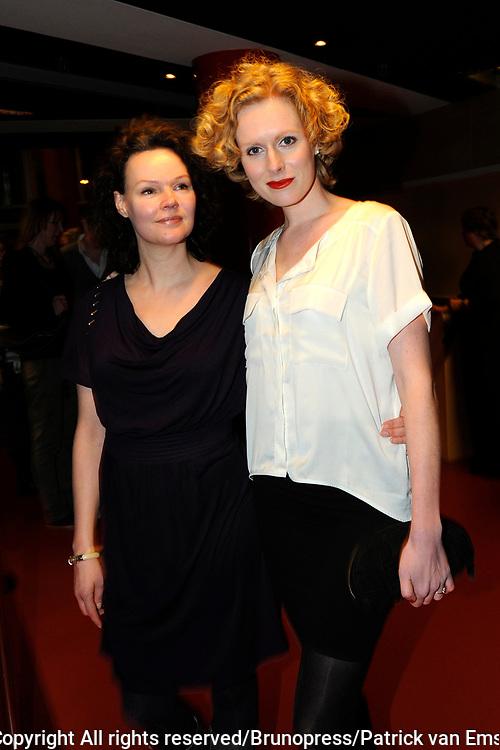 Premiere Masterclass met Pia Douwes in de rol van Maria Callas in theater Chasse in Breda.<br /> <br /> Op de foto: Jolanda van den berg (R)