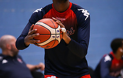 Levi Bradley of Bristol Flyers during the warm up - Photo mandatory by-line: Arron Gent/JMP - 02/11/2019 - BASKETBALL - Surrey Sports Park - Guildford, England - Surrey Scorchers v Bristol Flyers - British Basketball League Cup