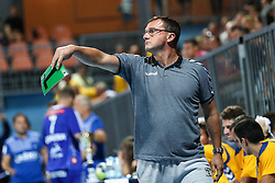 Zoran Jovicic, head coach of Koper during handball match between RK Celje Pivovarna Lasko and RD Koper 2013 of Super Cup 2016, on August 27, 2016 in SRC Marina, Portoroz / Portorose, Slovenia. Photo by Matic Klansek Velej / Sportida