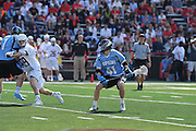 Johns Hopkins men's lacrosse team defeated the Terrapins 7- 4 Saturday afternoon in College Park.