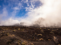 Scenic volcanic landscape of El Teide National Park, Tenerife, Spain. Mount Teide is a Volcano on the Tenerife, Canary Islands, it's summit is the highest point in Spain and the highest point above sea level among the Atlantic islands