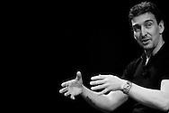 El bailarin argentino, Julio Bocca durante una conferencia titulada ?Sobre el escenario? realizada en el Corp Banca con motivo del festival de danza VIVA NEBRADA. 31-07-08 (ivan gonzalez)