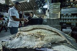April 4, 2017 - SâO Paulo, São paulo, Brazil - Consumers buy cod in the municipal market in São Paulo. (Credit Image: © Cris Faga via ZUMA Wire)