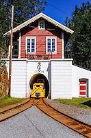 Norway, Kongsberg. The Kings Mine in Saggrenda.