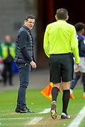 Sunderland AFC manager, Jack Ross on the touchline during the EFL Sky Bet League 1 match between Sunderland AFC and Luton Town at the Stadium Of Light, Sunderland, England on 12 January 2019.
