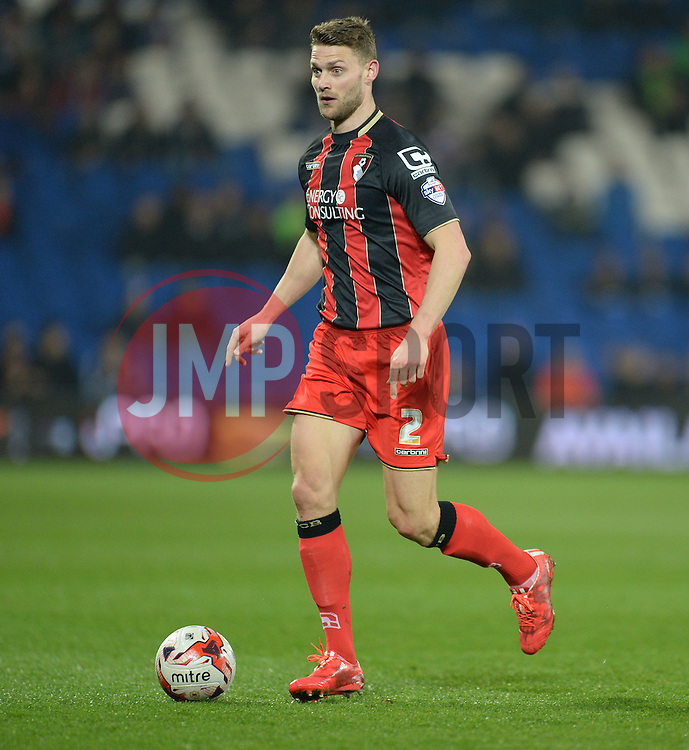 Bournemouth's Simon Francis - Photo mandatory by-line: Alex James/JMP - Mobile: 07966 386802 - 17/03/2015 - SPORT - Football - Cardiff - Cardiff City Stadium - Cardiff City v AFC Bournemouth - Sky Bet Championship