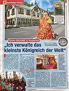Kingdom of Romkerhall.<br /> Published in Das Goldene Blatt #27, 2018<br /> <br /> Verwendung mit freundlicher Genehmigung von der Das Goldene Blatt.