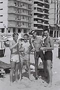 Boys on the beach, Benidorm, Spain, 1985