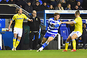 Leeds United Manager Marcelo Bielsa watches on from the technical area during the EFL Sky Bet Championship match between Reading and Leeds United at the Madejski Stadium, Reading, England on 12 March 2019.