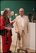 CAROLINE BLUNDEL; CHRISTOPHER GIBBS, Masterpiece London 2014 Preview. The Royal Hospital, Chelsea. London. 25 June 2014.
