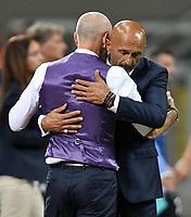 Stefano Pioli Fiorentina, Luciano Spalletti Inter <br /> Milano 20-08-2017 Stadio Giuseppe Meazza <br /> Calcio Serie A Inter - Fiorentina Foto Andrea Staccioli Insidefoto