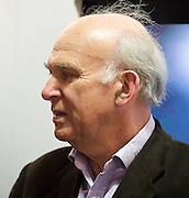 The Liberal Democrats Annual Autumn Conference 2012 at The Brighton Centre, Brighton, East Sussex, Great Britain <br /> 22nd to 26th September 2012 <br /> <br /> Vince Cable<br /> Secretary of State for Business, Innovation and Skills <br /> and MP for Twickenham<br /> <br /> Photograph by Elliott Franks