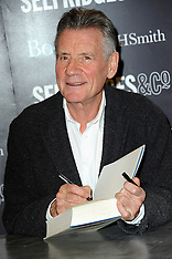 DEC 02 2014 Michael Palin attends a book signing at Selfridges