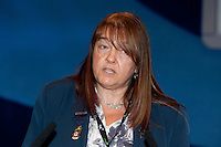 Gill Goodswen, NUT President, speaking at the TUC Conference 2010.