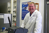 Pharmacist Gary Grabe at Medicap Pharmacy in Cedar Rapids on Tuesday, March 19, 2013.