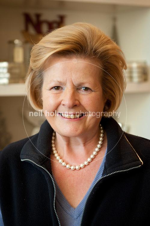 Wendy Burdass a regular shopper in Beverley, especially at Christmass