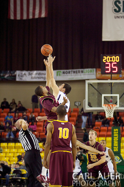 November 26th, 2010:  Anchorage, Alaska - Arizona State and Weber State tip off their semi-final game of the Great Alaska Shootout.  ASU would go on to beat the Weber Wildcats 59-58 to advance to the final game against St. John's.