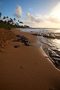 Sunrise, Wailua Beach, Kauai, Hawaii