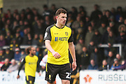 Burton Albion defender Keiran Wallace (22) during the EFL Sky Bet League 1 match between Burton Albion and Luton Town at the Pirelli Stadium, Burton upon Trent, England on 27 April 2019.