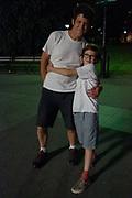 Roddy and Max, Washington Square Park, Manhattan, New York, US
